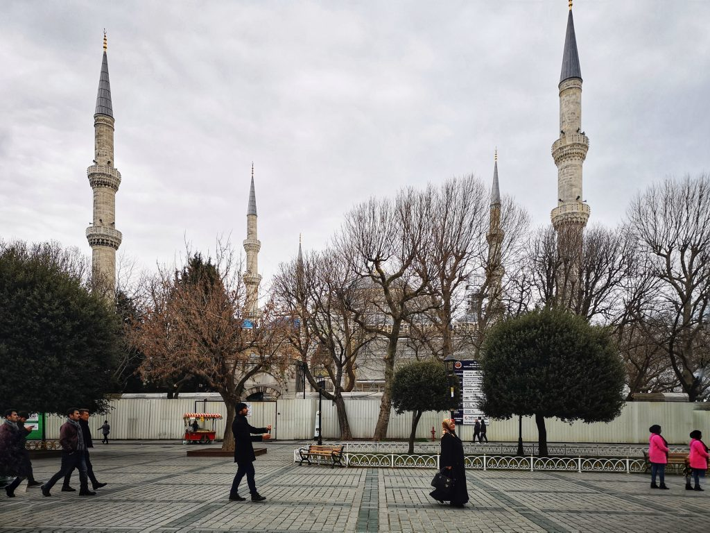 The beauttiful Blue Mosque