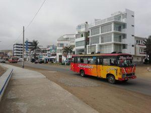 How to get from Huanchaco to Huaraz