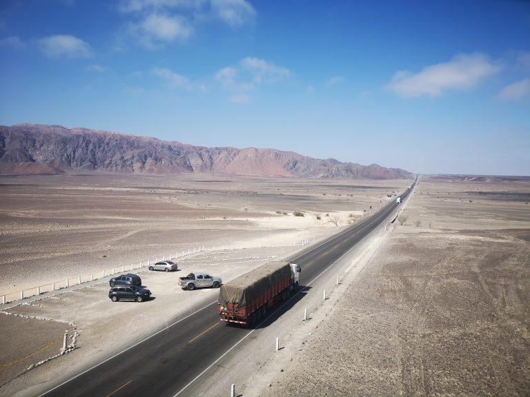From Peru to Chile by road